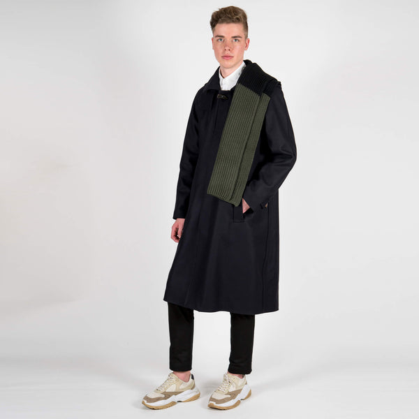 Lou Dalton x Gloverall Wool and Cashmere Dufflecoat Scarf