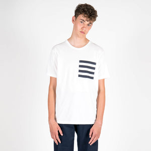 Navy Stripe Pocket T-Shirt
