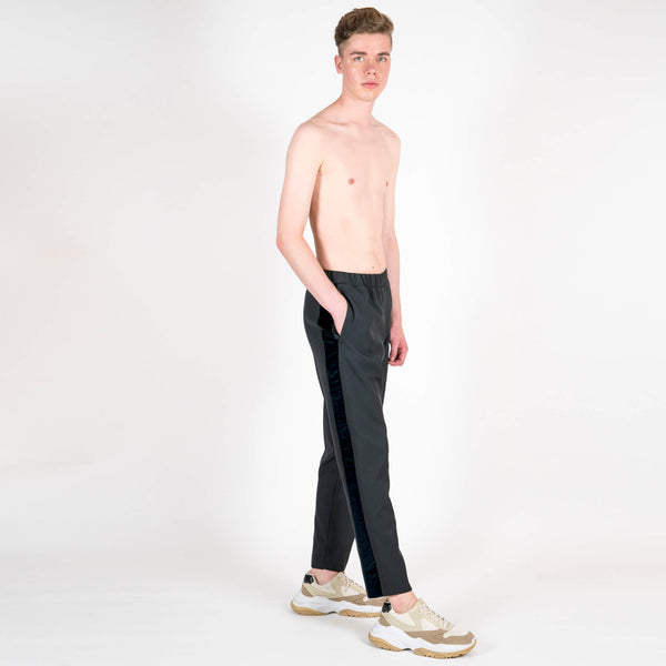 Lou Dalton Velvet Stripe Trackpants