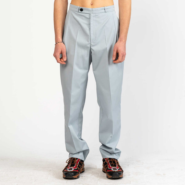 Gabardine Pleated Pants