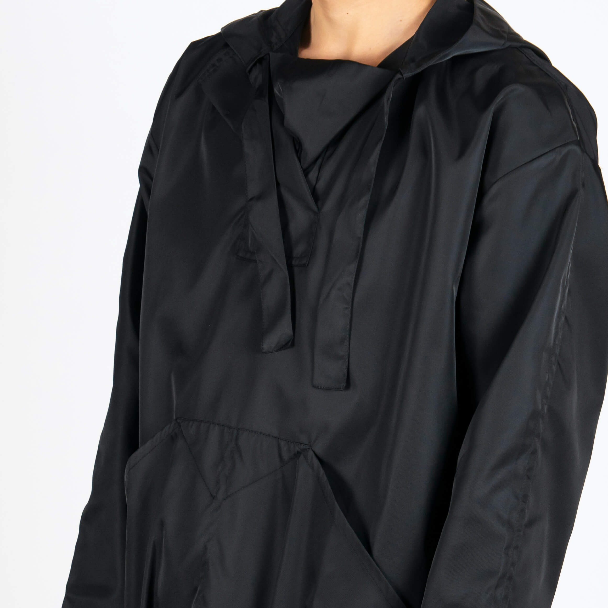 Hooded Smock Jacket
