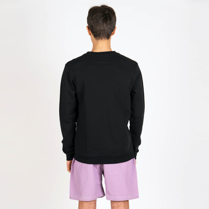 The Black Basic Sweatshirt