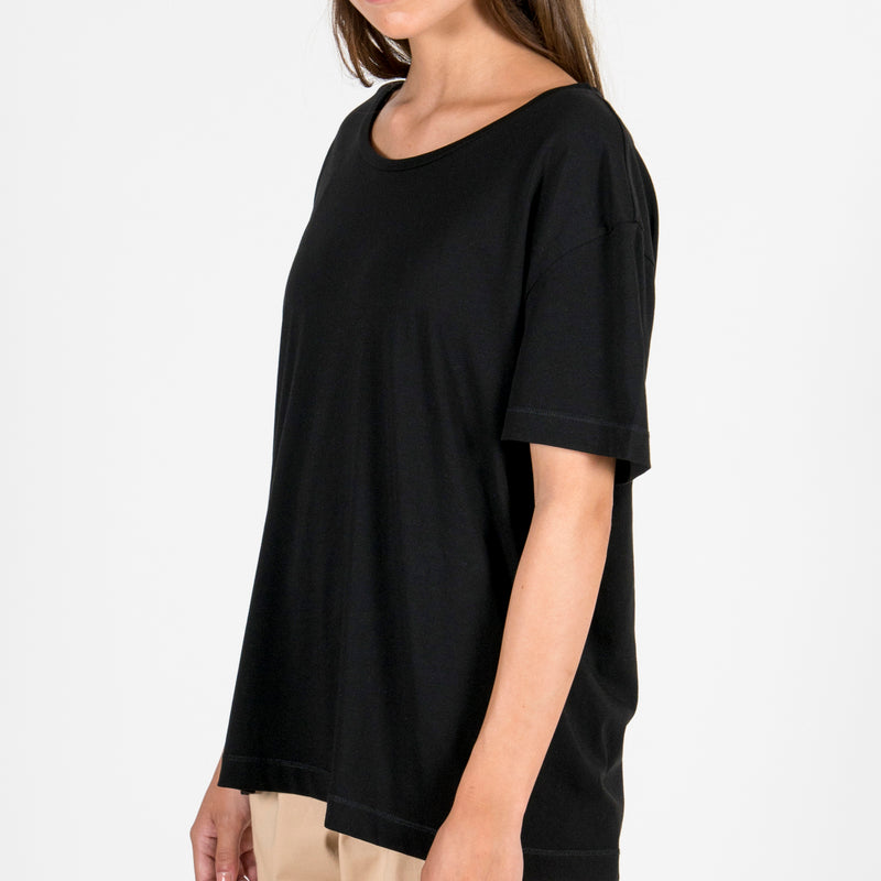The Black Boxy T-Shirt