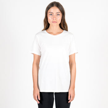 The White Round Neck