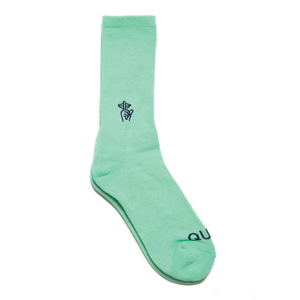 Shhh Socks Mint