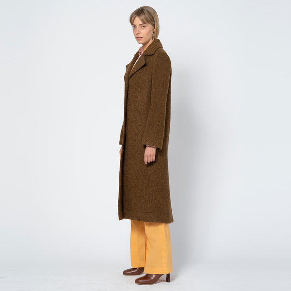 Blair Coat Boucle Brown