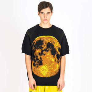Jacquard Knit Moon
