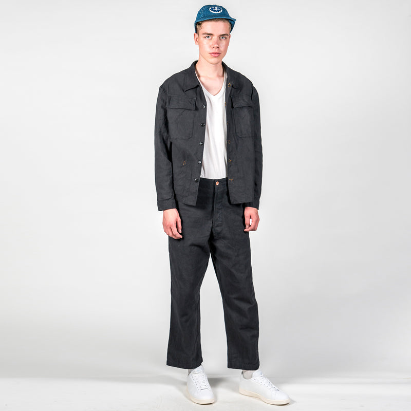 Story MFG British Organic Cotton-Twill Trousers Outfit