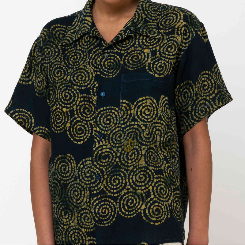Shore Shirt Green Crush Spiral