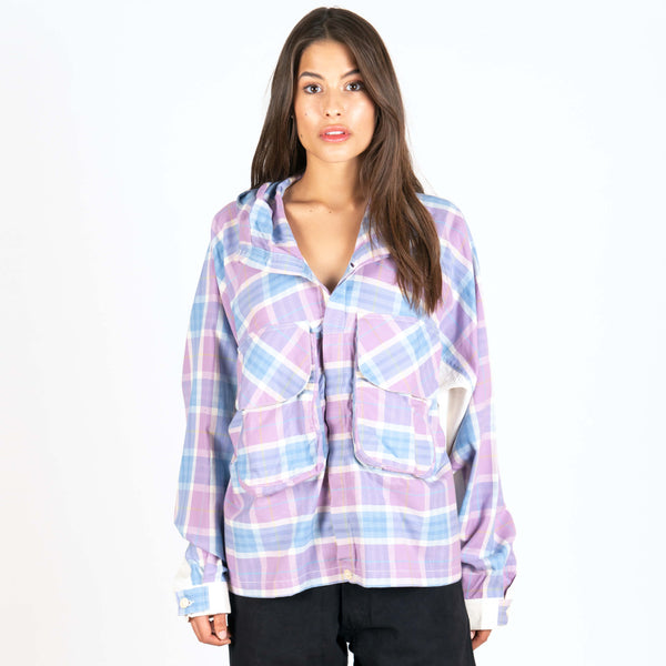 Forager Jacket Lilac Story Check