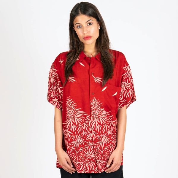 Shore Shirt Ruby Canna Shadow