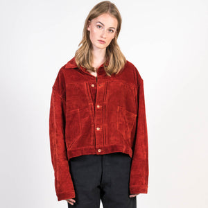 Story MFG Sundae Jacket Rose Velvet