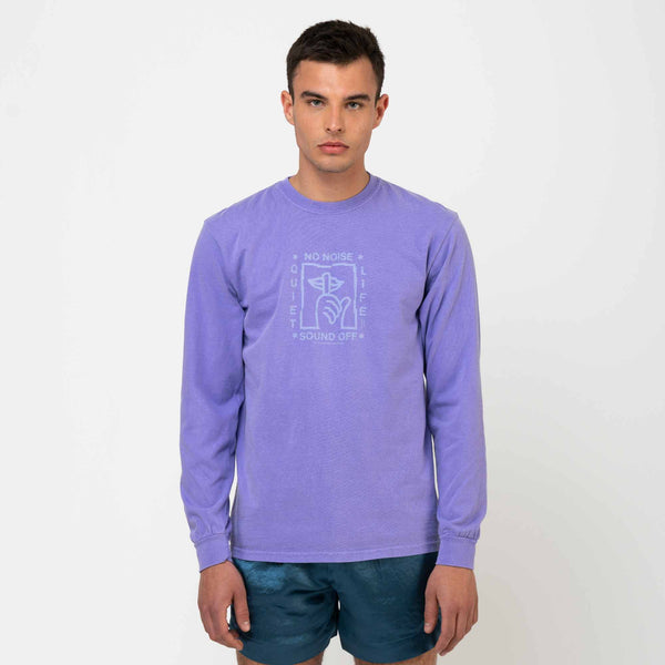 No Noise Pigment Dyed Longsleeve