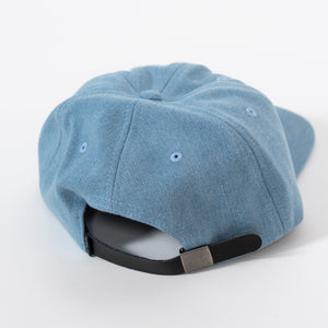 The Quiet Life Kenney Polo Hat Blue Leather Strap