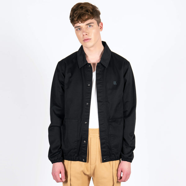 The Quiet Life Kenney Garage Jacket Black Dragon
