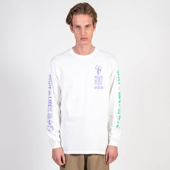 The Quiet Life Post Longsleeve White