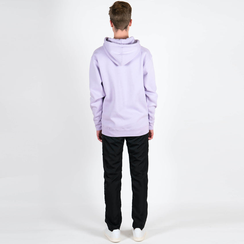The Quiet Life Lilac Smudge Hoodie Flower Back