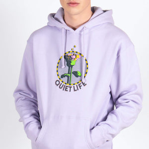 The Quiet Life Lilac Smudge Hoodie Flower