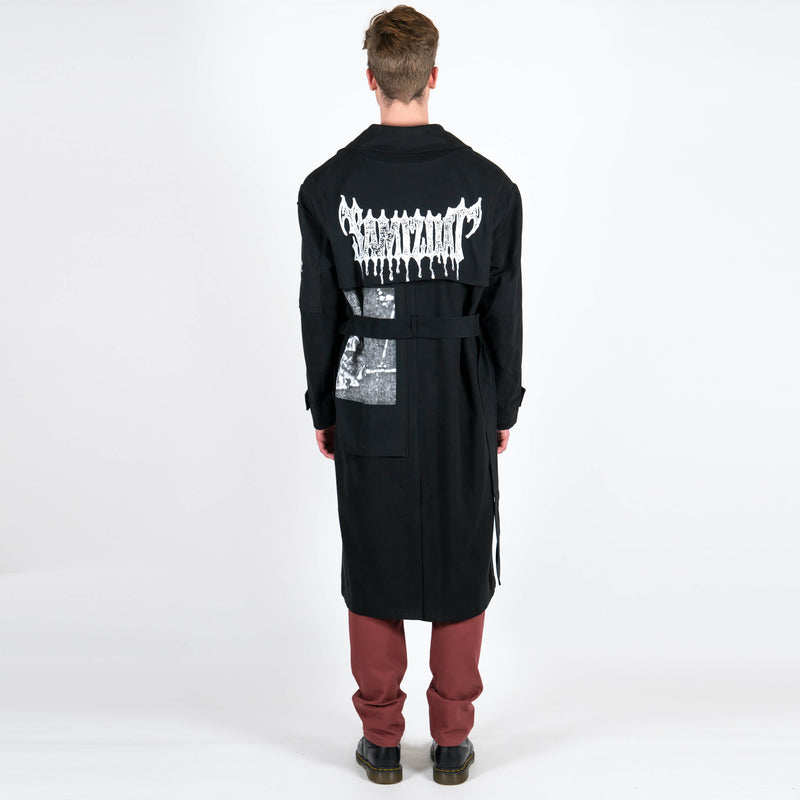Yang Li x Samizdat Patch Iconic Trench Back