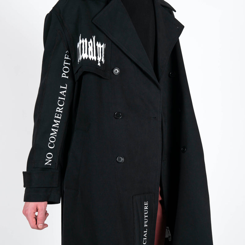 Yang Li x Samizdat Patch Iconic Trench Arms
