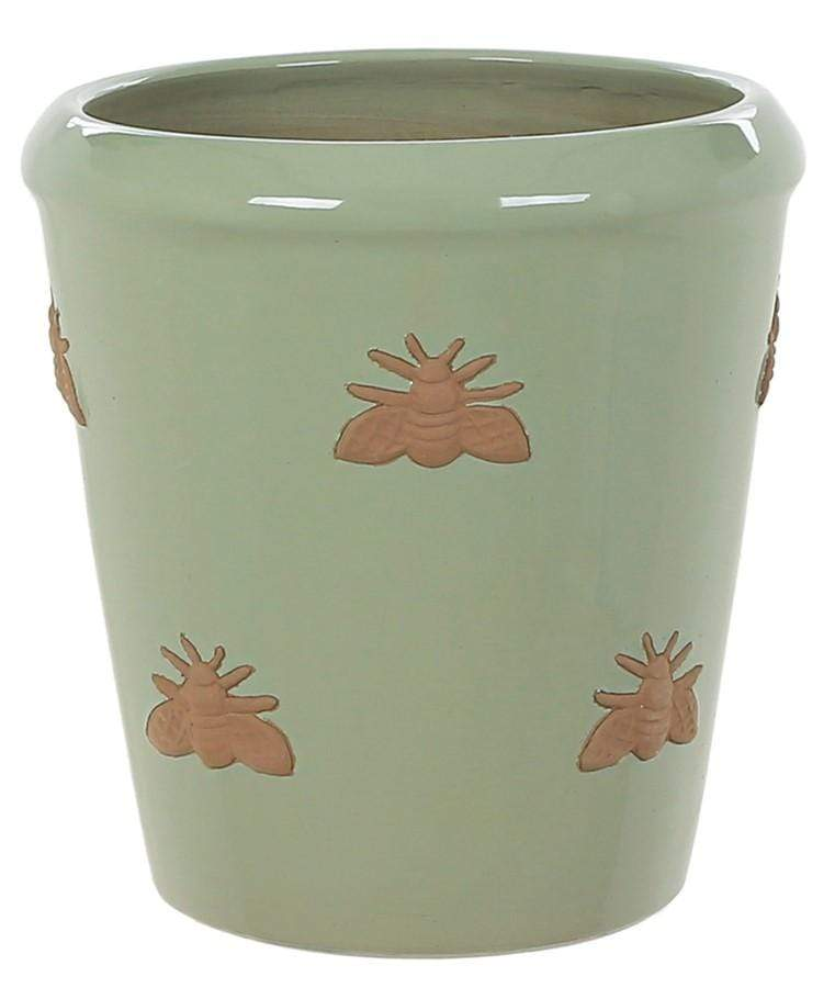 Woodlodge Planters & Pots Full Green / 20cm Bumble Bee Planter