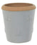 Woodlodge Planters & Pots Grey with Brown Trim / 20cm Bumble Bee Planter