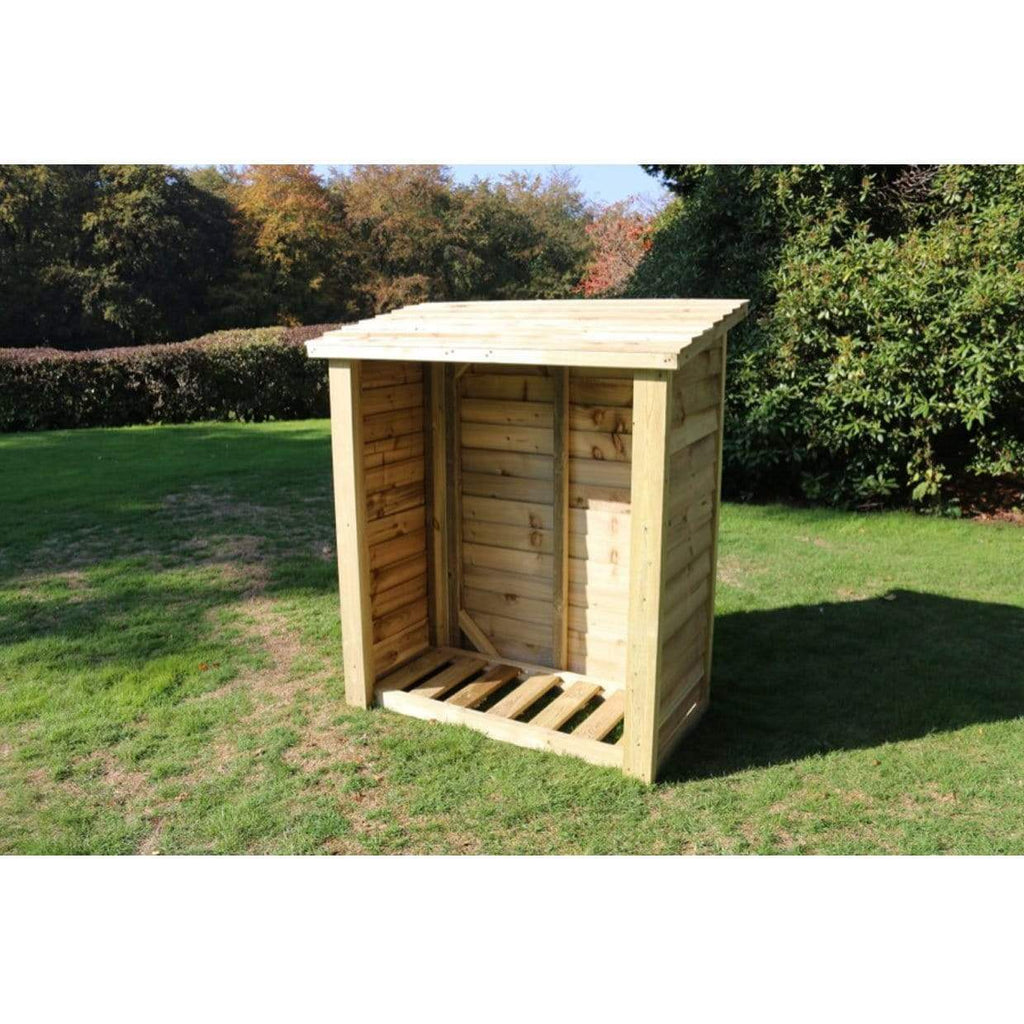 Churnet Valley Garden Log Stores Churnet Valley Logstore 5x4