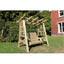 Churnet Valley Garden Swing Churnet Valley Pergola Swing Sits 2