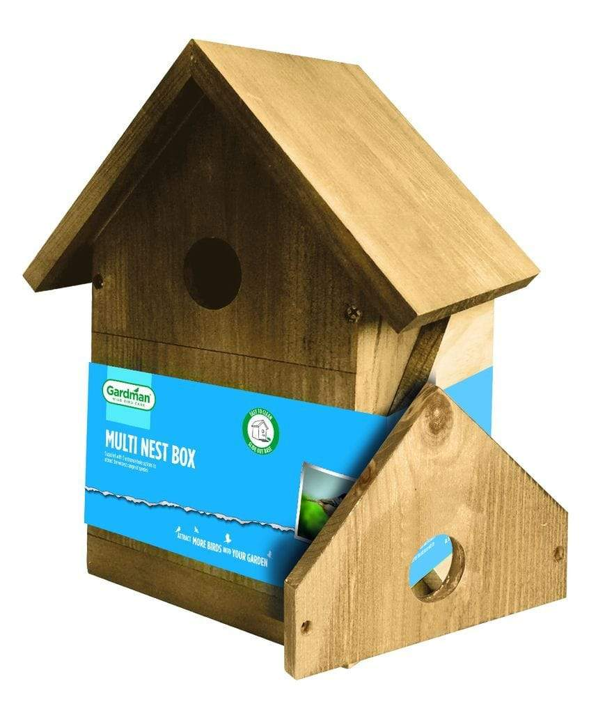 Gardman Nest Boxes Gardman Large Multi Nest Box - Brown
