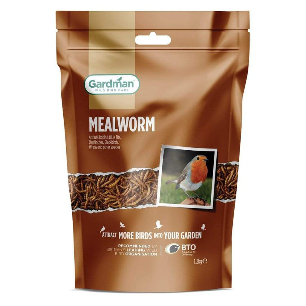 Gardman Meal Worms & Worms Gardman Mealworm Pouch 1.2kg
