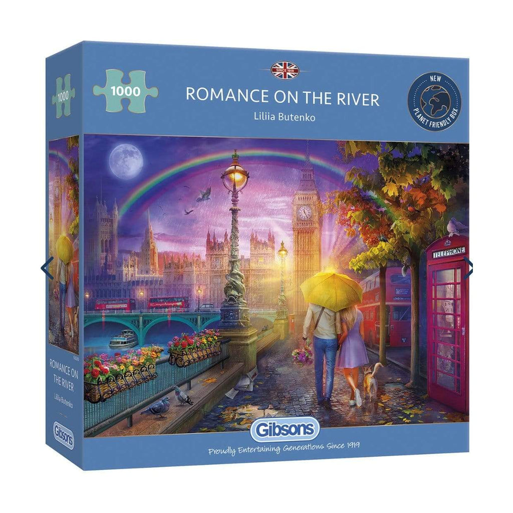 Gibsons jigsaw Gibsons jigsaw puzzle romance on the river 1000 pc