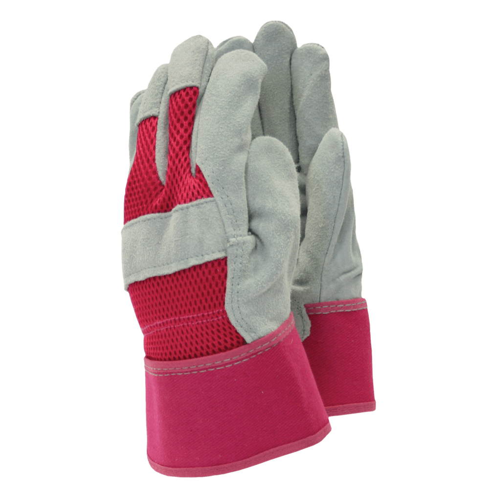 Town & Country Gardening Gloves Gloves Gardening All Rounder Rigger Pink Medium