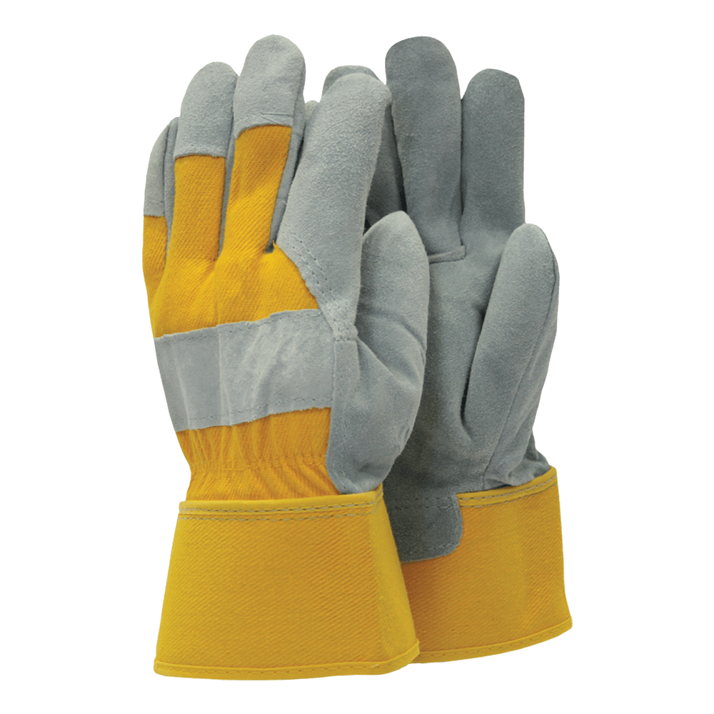 Town & Country Gardening Gloves Gloves Gardening All Rounder Rigger Yellow Large