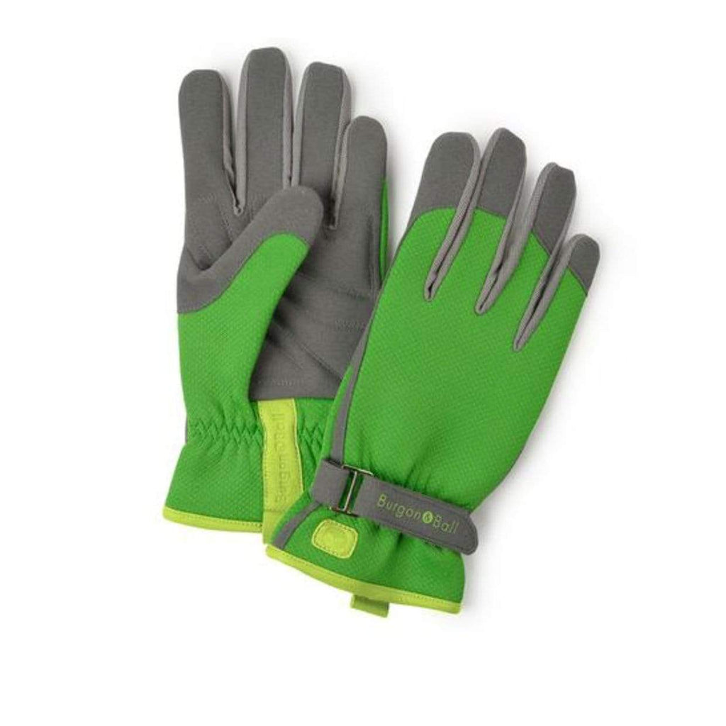 Burgon & Ball Gardening Gloves S/M Gloves Gardening Burgon & Ball Grass Green Design