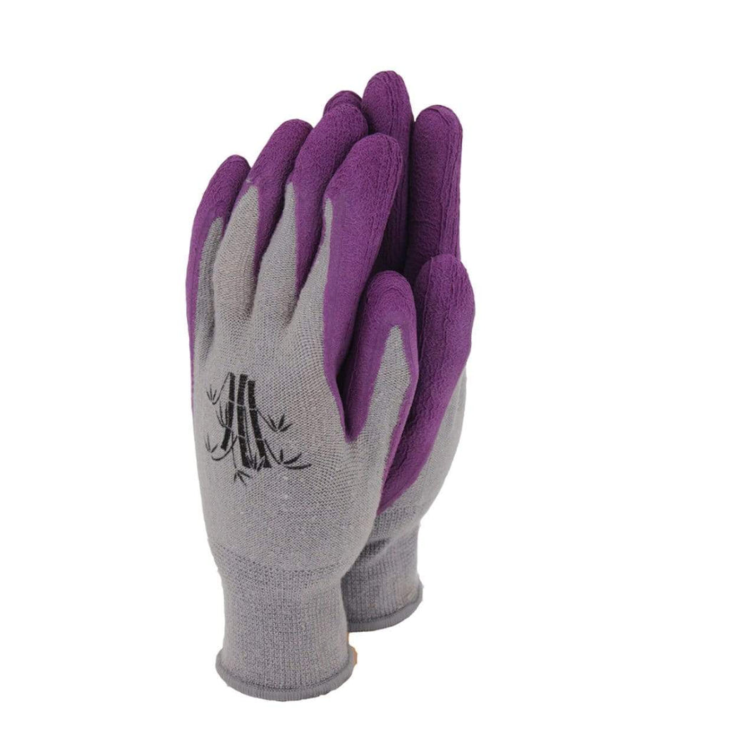 Town & Country Gardening Gloves Gloves Gardening Ladies Bamboo Purple