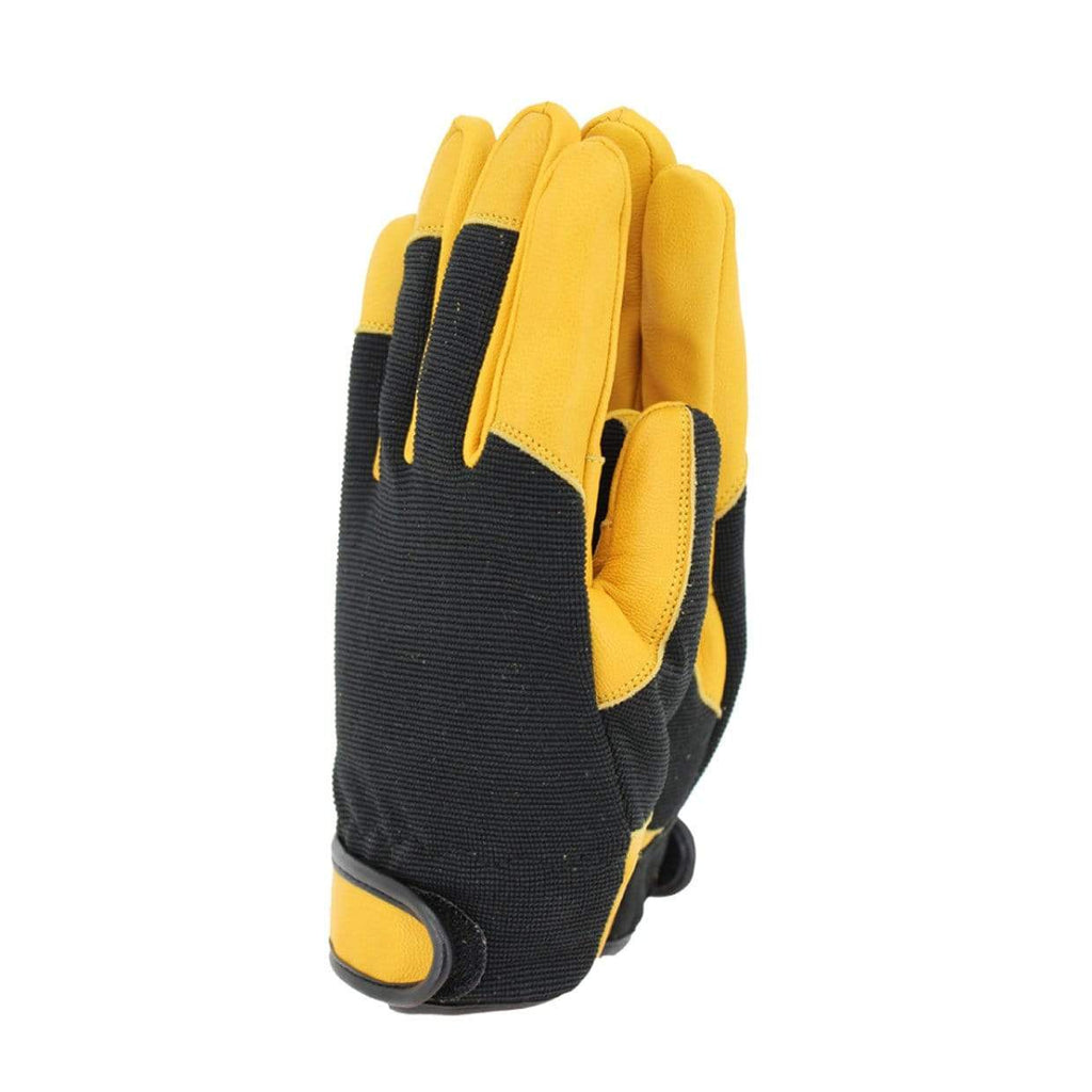 Town & Country Gardening Gloves Gloves Gardening Leather Thermal Comfort Fit Gloves Mustard