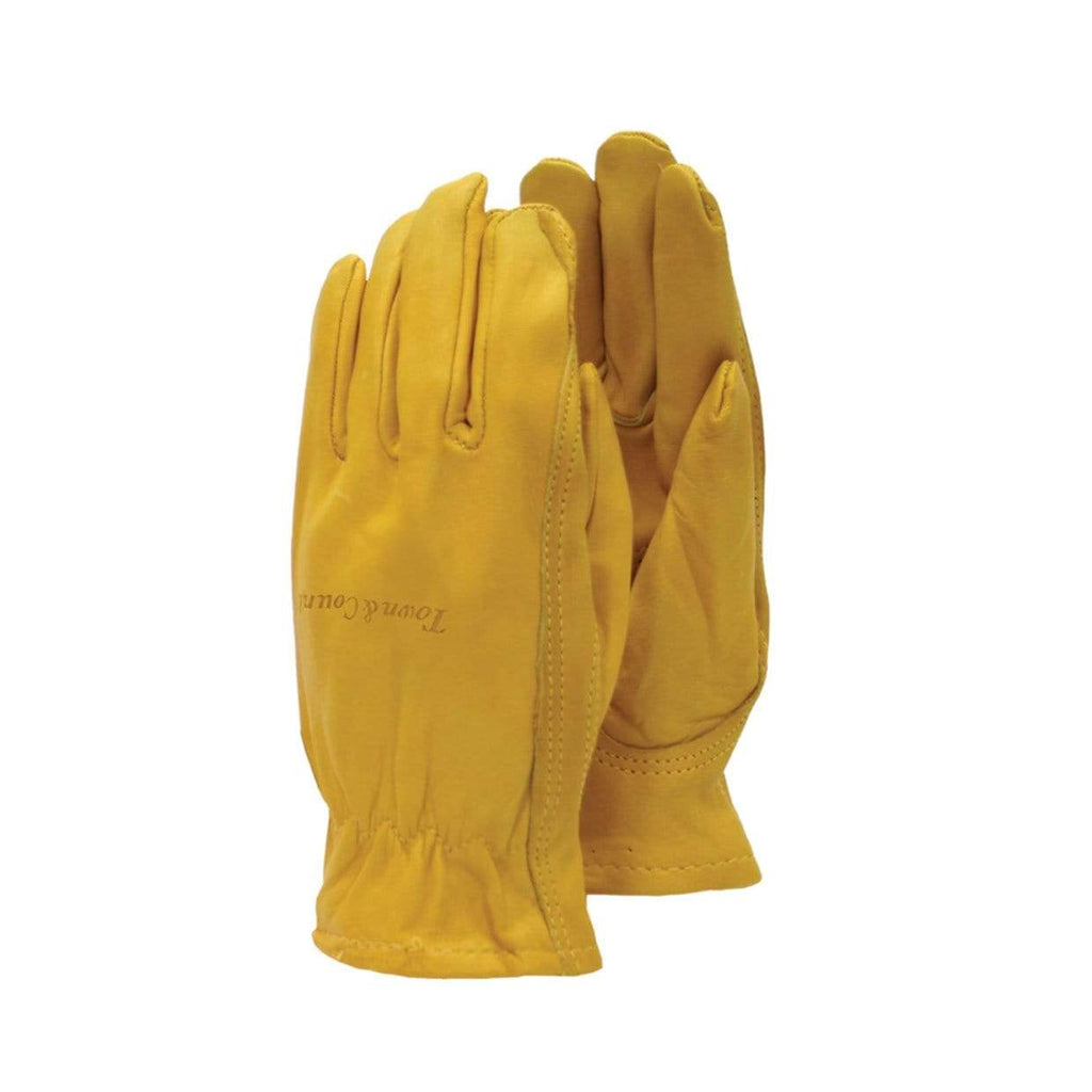 Town & Country Gardening Gloves Gloves Gardening Premium Leather Mustard