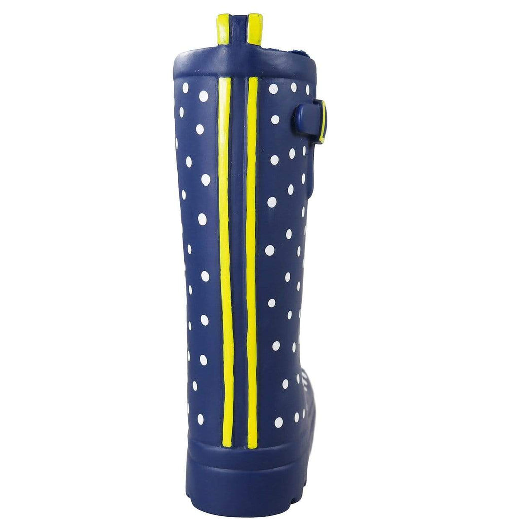 Joules Dog Toys Joules Spotty Welly Dog Toy