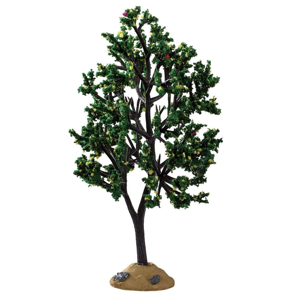 Lemax Accessory Lemax Alder Tree, Christmas Village Accessory