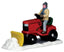 Lemax Table Pieces Lemax Christmas Village Accessory, Ride-On Snowplow