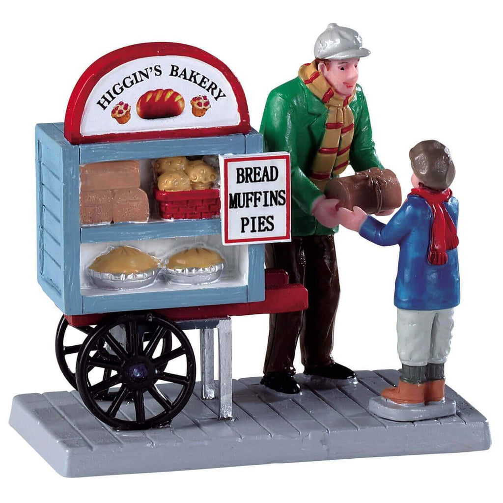 Lemax Figurines Lemax Figurine Delivery Bread Cart