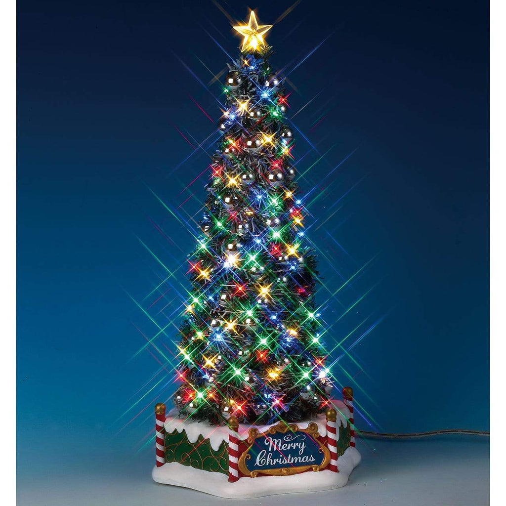 Lemax Sights and Sounds Lemax New Majestic Christmas Tree