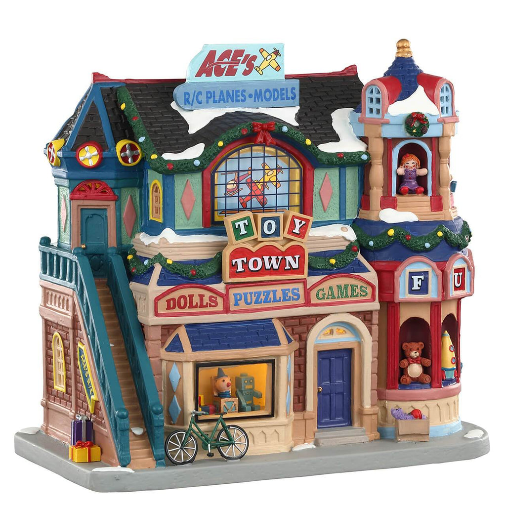 Lemax Lighted Buildings Lemax Toy Town, B/O LED