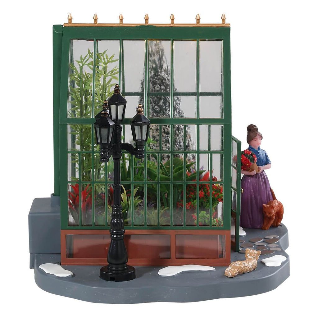 Lemax Table Pieces Lemax Victorian Greenhouse, B/O (4.5V)