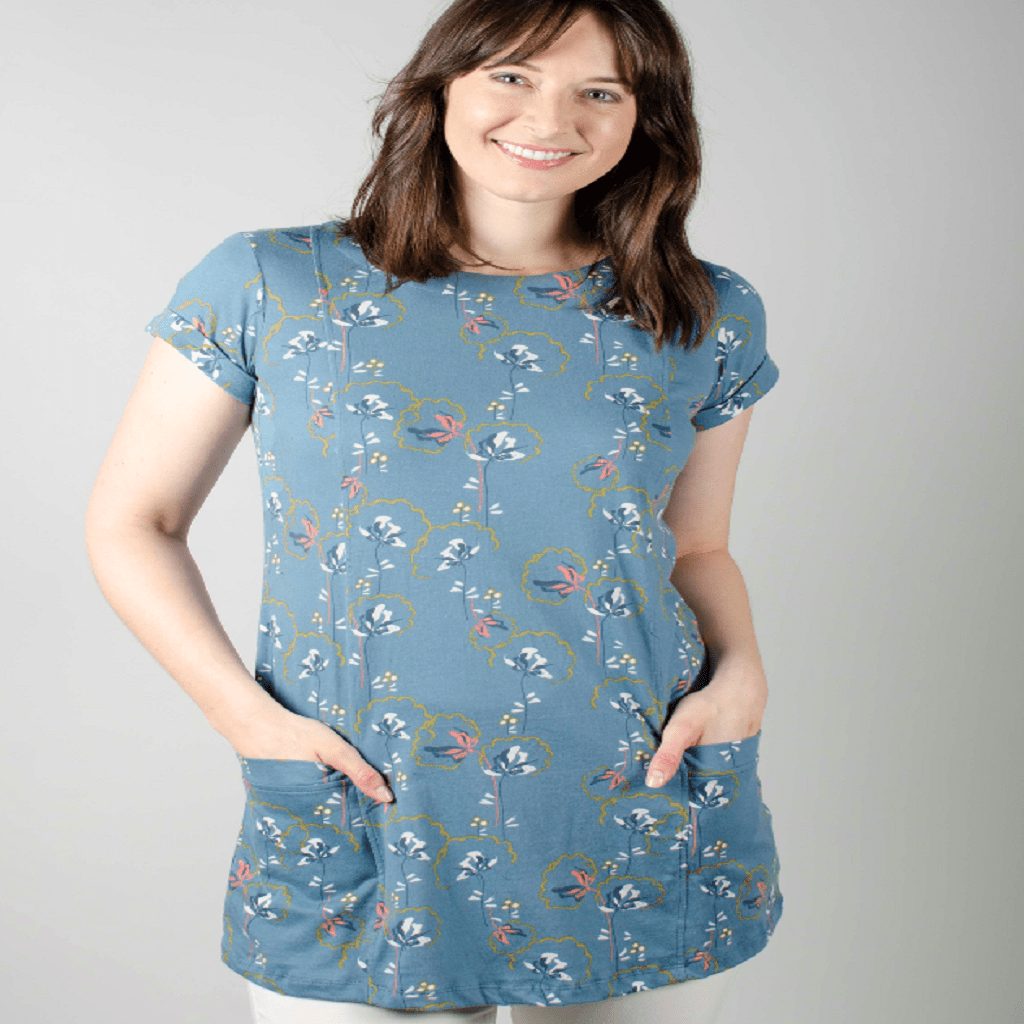 Lily and Me Top Lily and Me Tunic Top Everyday Dandy Blooms