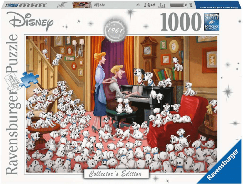 Ravensburger jigsaw Ravensburger Disney 101 Dalmations 1000 Piece Jigsaw