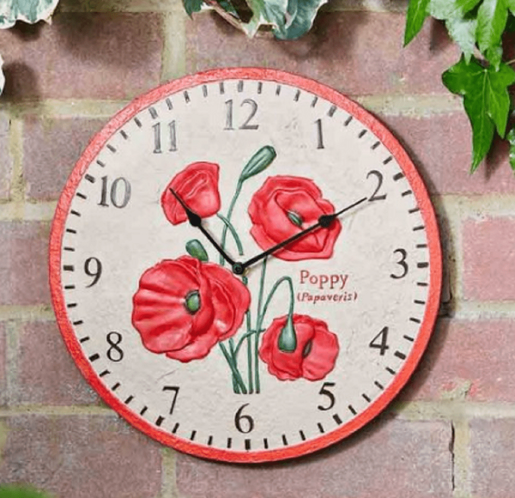 Smart Garden Clocks Smart Garden Poppy Clock