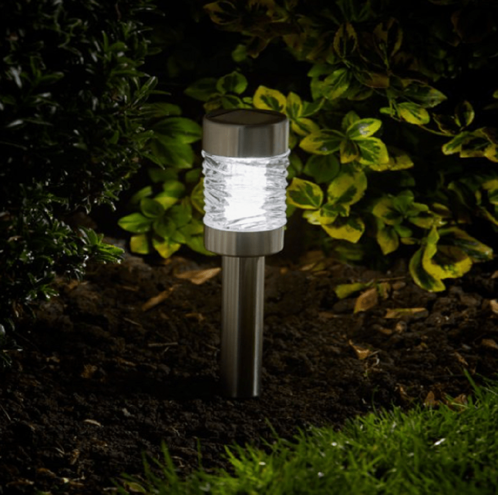 Smart Solar Outdoor lighting Smart Solar Martini Stainless Steel Stake Light