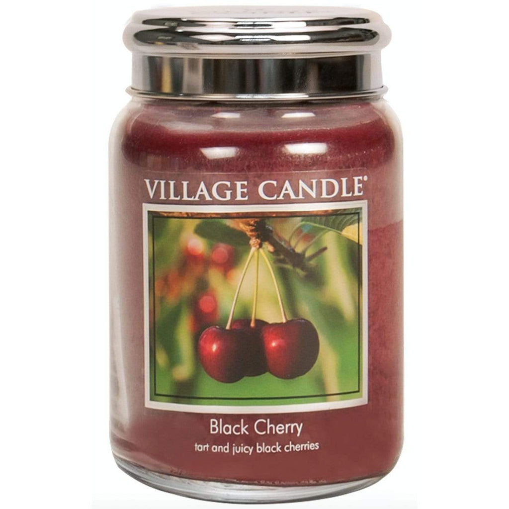 Village Candle Candle Village Candle Jar Black Cherry Large