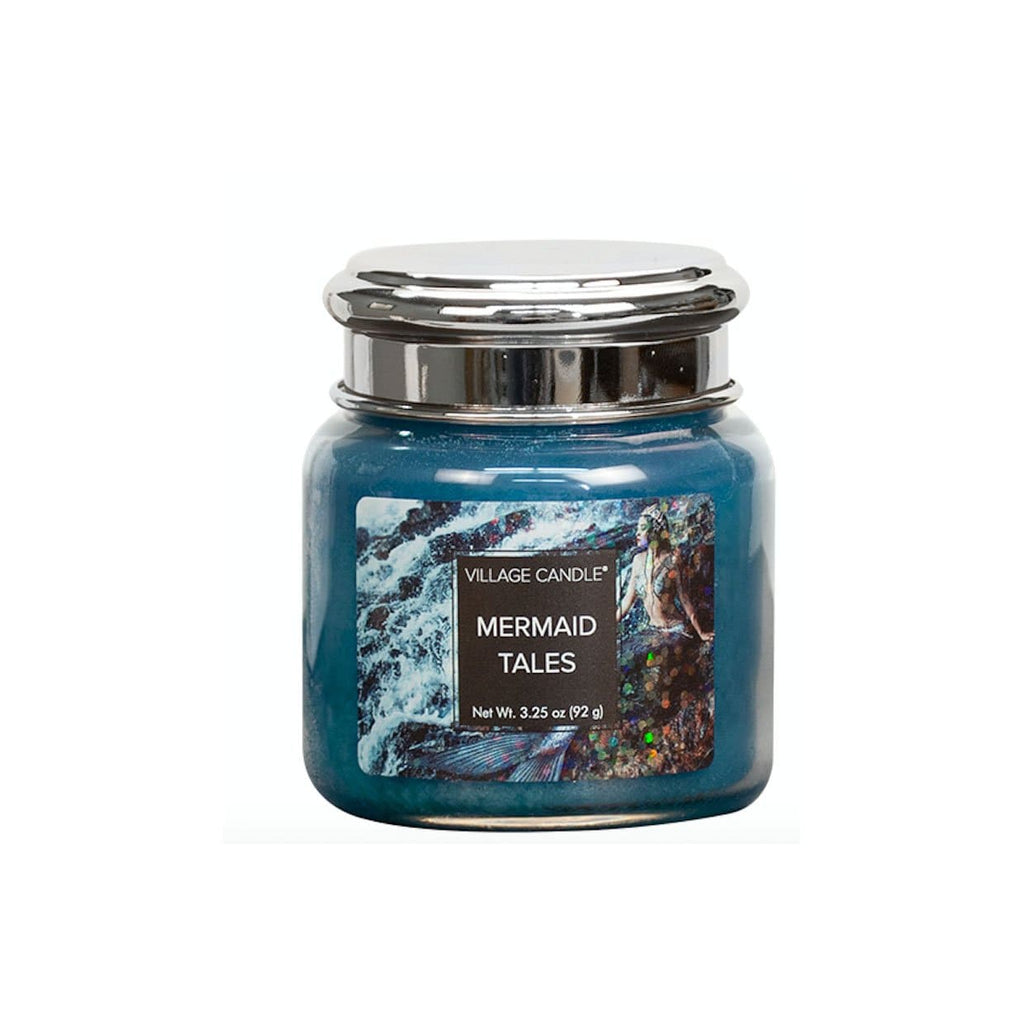 Village Candle Candle Village Candle Jar Mermaid Tales Petite